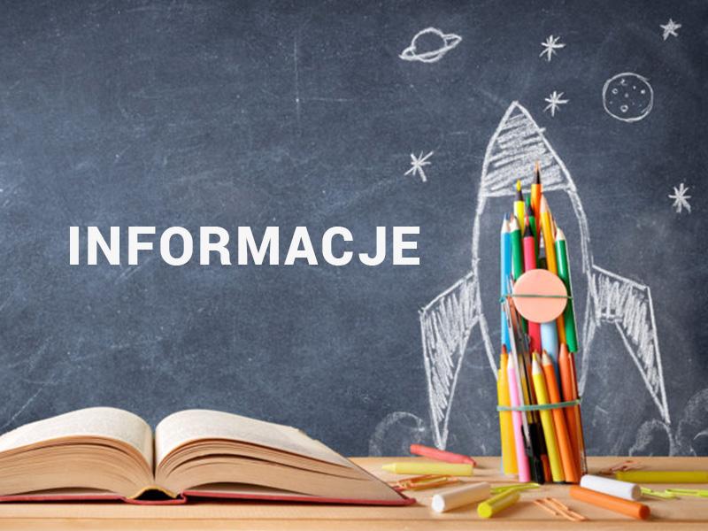 Informacje szkolne