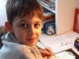 """Filip laureat konkursu """"Jak zdobyć Nagrodę Nobla. Konkurs literacki dla uczniów i uczennic szkół podstawowych"""""""