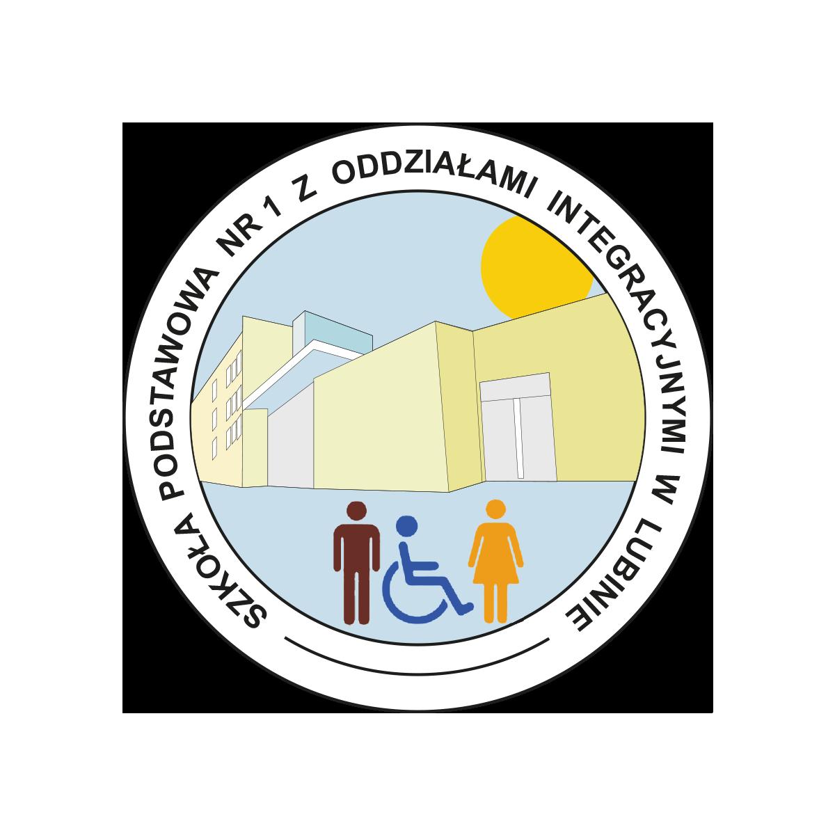 Logo Szkoła Podstawowa 1 w Lubinie