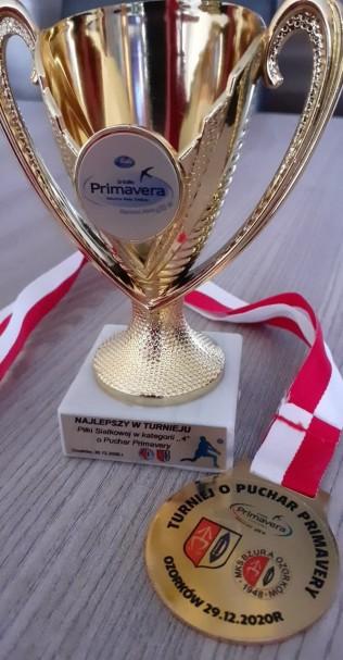 Czwarte miejsce w Ogólnopolskim Turnieju Minisiatkówki o Puchar Primavery