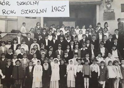 Chór szkolny 1965 rok