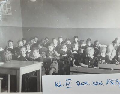 Rok szkolny 1963-64