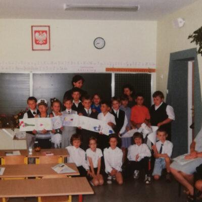 Kl. IIa-2000-zakończenie roku szkolnego