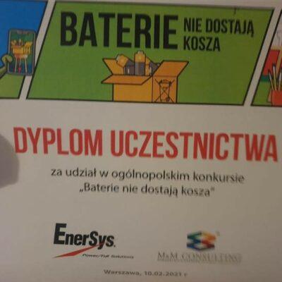 Konkurs Baterie nie dostają kosza